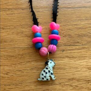 Dalmatian Charm Necklace